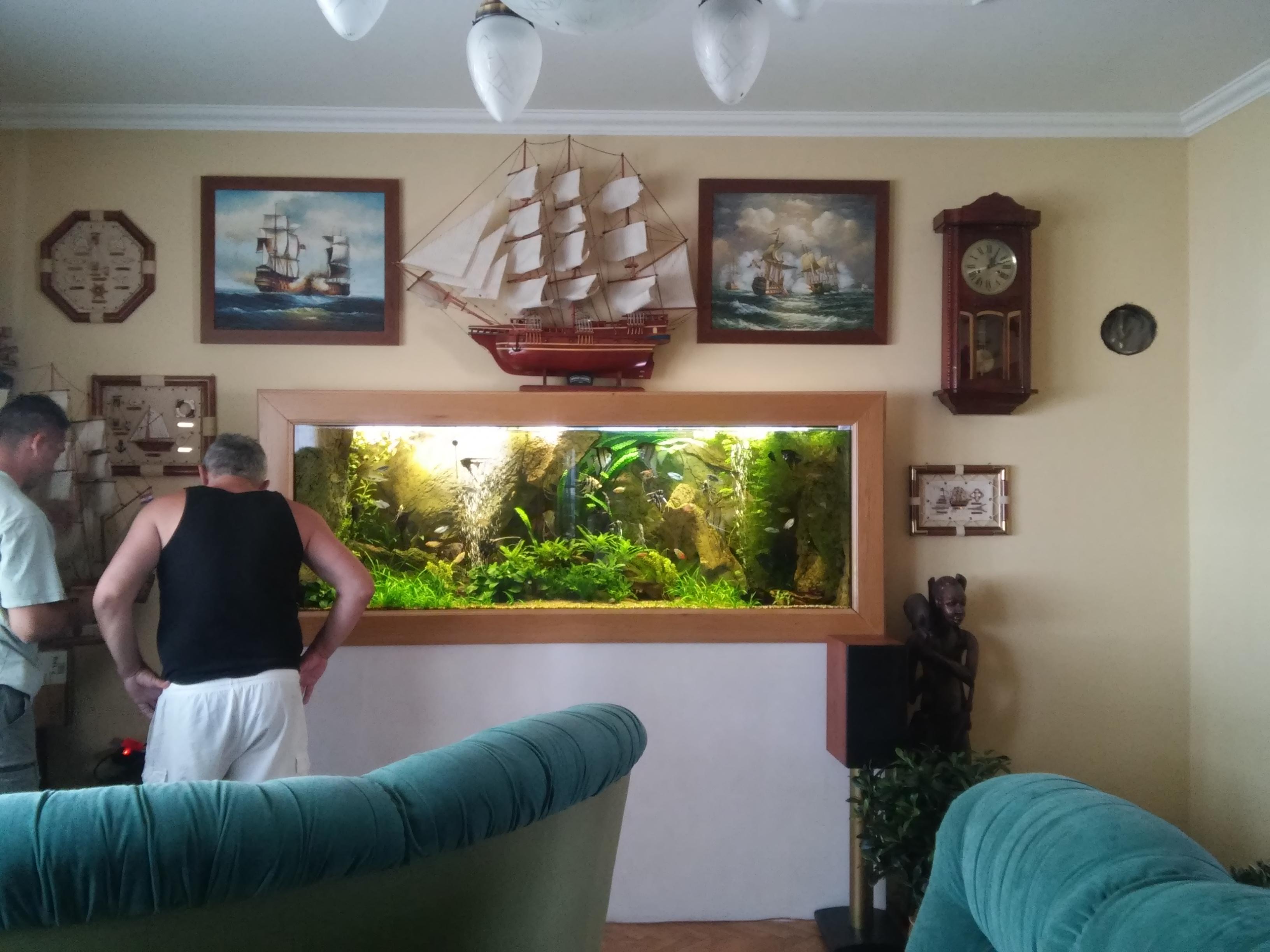 Akvarium na mieru rastlinkove 2